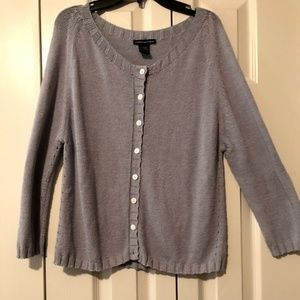 Anthropologie Gray Sweater